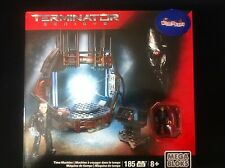 Time Machine TERMINATOR GENISYS MEGA BLOKS 8  185 PCS building SET NIB