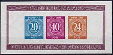 == Briefmarkenausstellung Mi. Block 12B **, Kat. 60€ ==