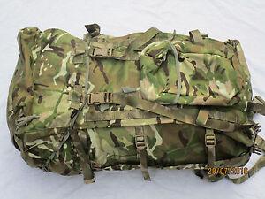 Rucksack & Frame,Infantry, LONG Convoluted Back,MTP,IRR,Multicam, 2015,ovp,#1