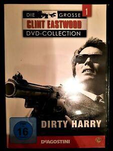 DIRTY HARRY - CLINT EASTWOOD COLLECTION - DVD - KULT - SAMMLUNG