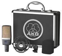 AKG C214 Professional Large-Diaphragm Studio Condenser Microphone Recording Mic