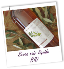 AROMA ZONE Savon Noir Liquide Bio 1L Adoucissant & Purifiant /EBEJ