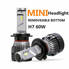 Super bright! H7 LED Headlight Bulbs Kits 60W CSP chip Power 6000K Fog Light