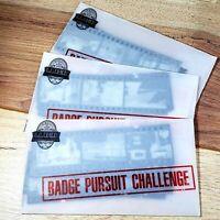 3 × L.A. Noire Badge Pursuit Challenge Film Negatives Gamestop Pre-Order Bonus