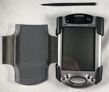 Compaq iPaq H3800 series, with hard case and stylus. Not tested.