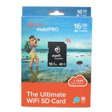 🔴 Eyefi MobiPRO 16GB +WiFi SDHC The Ultimate WiFi SD Card Class 10