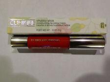 Clinique Chubby Stick Moisturizing Lip Colour ~ 11 Two Ton Tomato ~ .10 Oz