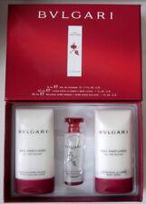 Bvlgari Eau Parfumee Au The Rouge 3 piece gift set