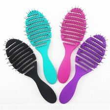 1pcs Wet Brush Comb Tool Barber Hair Brush Hair Styling Tools Anti Static Head