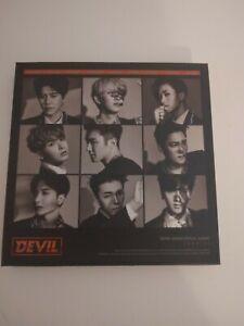 Super Junior Devil Special 10th Anniversary Album with Heechul photocard