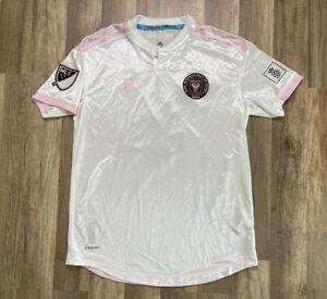 Auth Game Used MLS Adidas Mens Aeroready Trapp #6 INTER MIAMI Jersey Medium