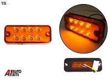 1X 24V LED Face avant arrière orange Indicateur clignotant Lampe camping-car