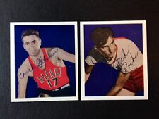 1948 Ephraim Rocha St Louis  Autographed Bowman Basketball Reprint Card w/COA