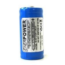 Enerpower 18350 900mAh 2A 3,6V - 3,7V Li-Ion Akku Pluspol erhöht protected