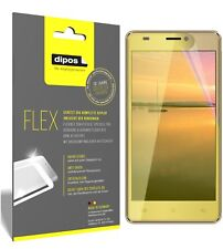 3x Cubot H3 Screen Protector Protective Film covers 100% dipos Flex