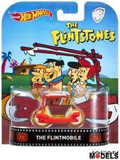 THE FLINTMOBILE The Flintstones Auto Warner Bros Hot Wheels Die Cast 1/64 New