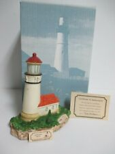 """Harbour Lights """"Cape Blanco"""" Oregon #109 - Miob w/Coa and Name Tag! Retired!"""