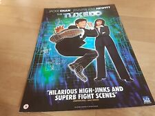 THE TUXEDO . JACKIE CHAN . ORIGINAL UK 2003 MOVIE film POSTER  17 years old!