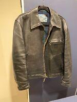 Vintage Highwayman Aero Leathers Steerhide jacket, Size 42