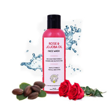 Ayurveda Greenberry Face Wash Rose and Jojoba Oil Free Shipping World Wide