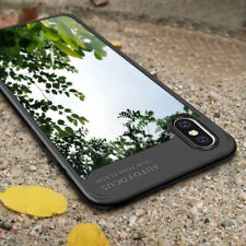 For iPhone X 8 7 XS Max XR Luxury Ultra Slim Clear Shockproof Bumper Case Cover