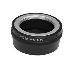 M42 Lens To Micro 4/3 m4/3 Adapter for EM5 EM10 EM1 EPL7 GF7 GF6 GH4 G6 GM1 GM5