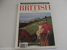 British Heritage Magazine Aug Sept 1996 Isle of Wight Carrg Cennan Castle Bath