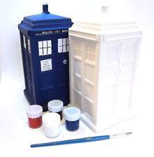 Doctor Who Tardis Pinta Tu Propio Hucha - Nuevo Regalo Genial