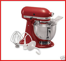 KitchenAid ARTISAN 5 QT Stand Mixer - 325 Watts 10 Speeds +Attachments RED *NEW*