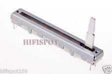 5x ALPS travel: 45mm slide Fader RS45112 10K linear dual pot total length: 60mm