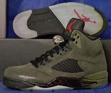 2013 Nike Air Jordan 5 V Retro Fear SZ US 7.5 ( 626971-350 )