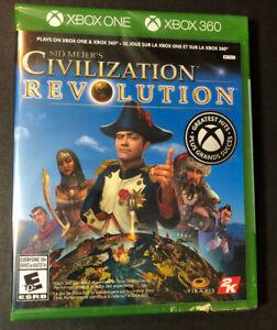Sid Meier's Civilization Revolution [ G2 Case ] (XBOX ONE / Xbox 360) NEW