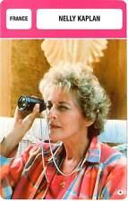 FICHE CINEMA :  NELLY KAPLAN -  France (Biographie/Filmographie)