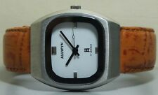 Vintage ALLWYN Winding Mens Stainless Steel Wrist Watch Old Used R719 Antique
