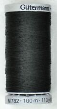 Gutermann Extra Strong Thread Polyester Black 100 M