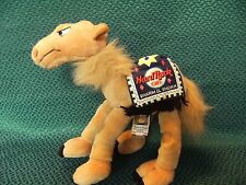 """LIMITED EDITION COLLECTABLE HARD ROCK CAFE SHARM EL SHEIKH SOFT TOY CAMEL 8"""""""