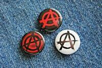 "Anarchy PUNK Rock music band Pin Pinback Buttons 1"" Badge skateboarding life"