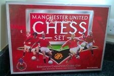 Manchester United Champions Chess Set Boxed Official Merchandise