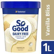 Sanitarium So Good Vanilla Bliss Frozen Dessert Tub 1L