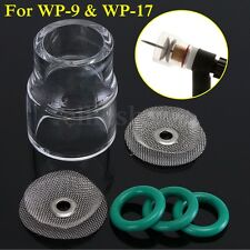 6X TIG Welding #12 Pyrex Cup + Diffuser Saver Kit For WP-9 20/ WP-17 18 Gas Lens