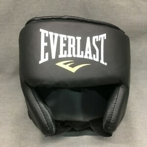EVERLAST ELITE HEADGEAR Medium Large Black Maximum Protection New Retail $68