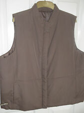 BHS, MINK COLOUR, SLEEVELESS JACKET. SIZE 20 IN  TOP COND.