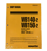 Komatsu WB140-2, WB150-2 Backhoe Service Shop Repair Manual