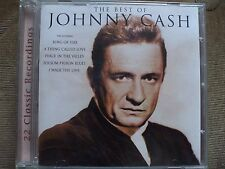 The Best Of Johnny Cash CD.Ring Of Fire,Walk The Line.A Thing Called Love,VGC.