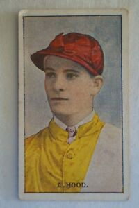 Horse Racing History Sniders & Abrahams Australian Jockeys Card - A.Hood
