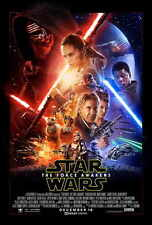 Star Wars: Episode VII - The Force Awakens Film Cinema Poster 27x40 Theater Size