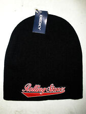 ROLLING STONES LICENSED BEANIE CAP ROCK  NEW! t-shirt