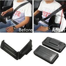 2 Stück schwarz Auto Sitzgurt Komfort Riemen Verstellung Halter Clip verbesserte