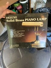 Delixe Solid Brass Piano Lamp