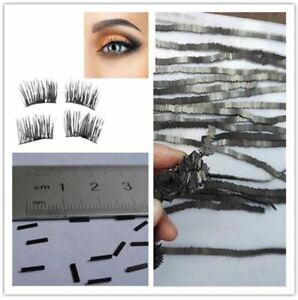 100Pcs Reusable Magnet Sheet For 3D Magnetic False Eyelashes Extension Handmade